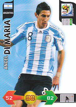 Angel Di Maria Argentina Panini 2010 World Cup #19