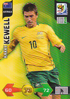 Harry Kewell Australia Panini 2010 World Cup #30