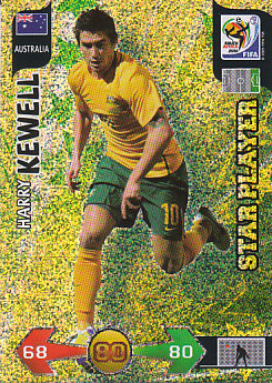 Harry Kewell Australia Panini 2010 World Cup Star Player #32