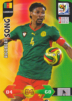 Rigobert Song Cameroon Panini 2010 World Cup #54