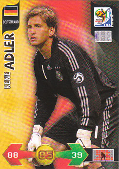 Rene Adler Germany Panini 2010 World Cup #87
