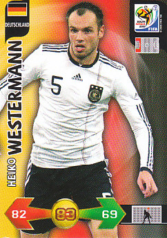 Heiko Westermann Germany Panini 2010 World Cup #89
