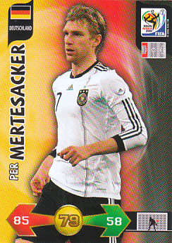 Per Mertesacker Germany Panini 2010 World Cup #91