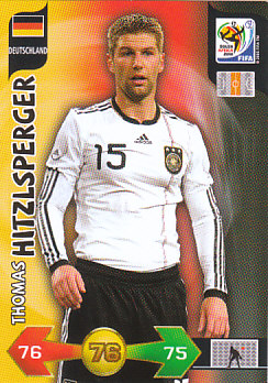 Thomas Hitzlsperger Germany Panini 2010 World Cup #95