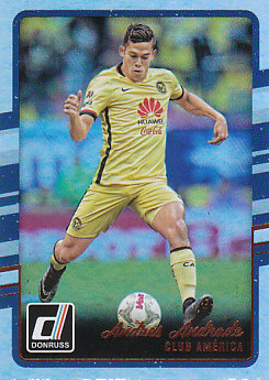 Andres Andrade Club America 2016/17 Donruss Soccer Cards Silver Parallel #56