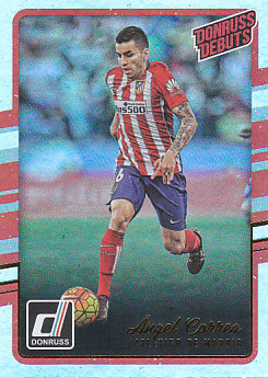 Angel Correa Atletico Madrid 2016/17 Donruss Soccer Cards Silver Parallel #208