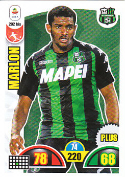 Marlon Sassuolo 2018/19 Panini Calciatori Adrenalyn XL Plus #292BIS