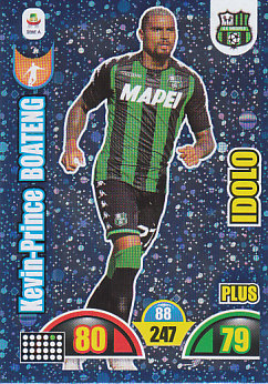 Kevin-Price Boateng Sassuolo 2018/19 Panini Calciatori Adrenalyn XL Plus Idolo #506