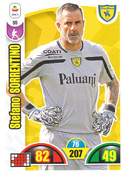 Stefano Sorrentino Chievo Verona 2018/19 Panini Calciatori Adrenalyn XL #55
