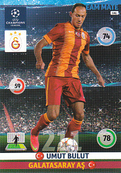 Umut Bulut Galatasaray AS 2014/15 Panini Champions League #141