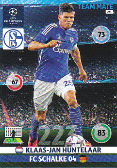 Klaas-Jan Huntelaar Schalke 04 2014/15 Panini Champions League #231