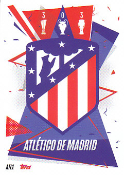 Team Badge Atletico Madrid 2020/21 Topps Match Attax CL Team Badge #ATL01