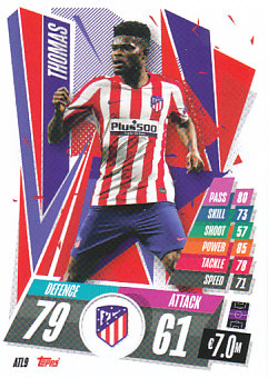 Thomas Atletico Madrid 2020/21 Topps Match Attax CL #ATL09
