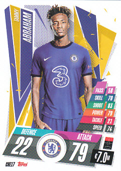 Tammy Abraham Chelsea 2020/21 Topps Match Attax CL #CHE17