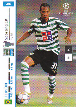 Liedson Sporting CP 2007/08 Panini Champions League #215