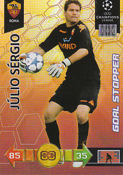 Julio Sergio AS Roma 2010/11 Panini Adrenalyn XL CL Goal Stopper #266