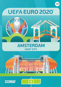 Amsterdam Netherlands Panini UEFA EURO 2020 CORE - Host City #010
