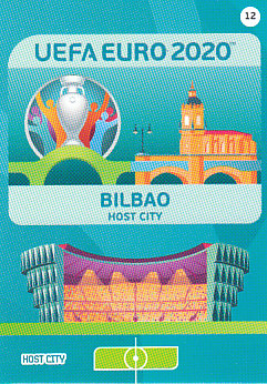 Bilbao Spain Panini UEFA EURO 2020 CORE - Host City #012