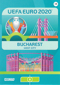 Bucharest Romania Panini UEFA EURO 2020 CORE - Host City #016