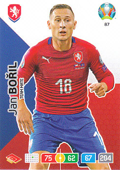Jan Boril Czech Republic Panini UEFA EURO 2020#087