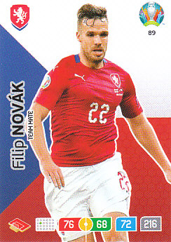 Filip Novak Czech Republic Panini UEFA EURO 2020#089