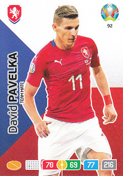 David Pavelka Czech Republic Panini UEFA EURO 2020#092