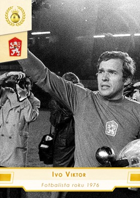 Ivo Viktor Czech Republic Fan karty Fotbalista roku 1976 #FR12