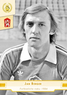 Jan Berger Czech Republic Fan karty Fotbalista roku 1984 #FR20