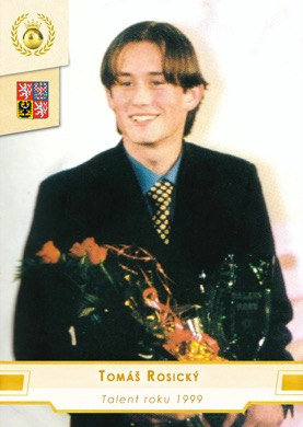 Tomas Rosicky Czech Republic Fan karty Fotbalista roku Talent roku 1999 #TaR06