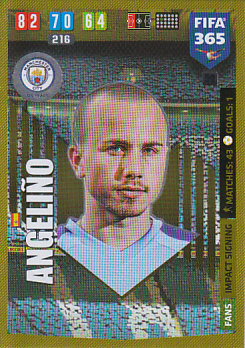 Angelino Manchester City 2020 FIFA 365 Impact Signing #50