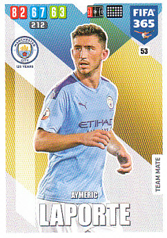 Aymeric Laporte Manchester City 2020 FIFA 365 #53