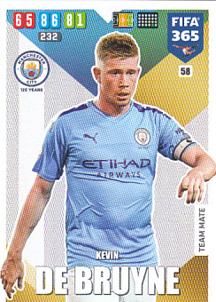 Kevin De Bruyne Manchester City 2020 FIFA 365 #58