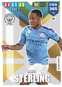 Raheem Sterling Manchester City 2020 FIFA 365 #61