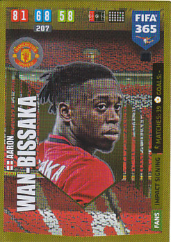 Aaron Wan-Bissaka Manchester United 2020 FIFA 365 Impact Signing #68