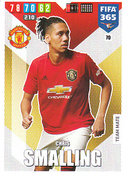 Chris Smalling Manchester United 2020 FIFA 365 #70