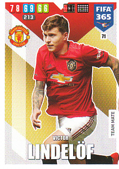 Victor Lindelof Manchester United 2020 FIFA 365 #71