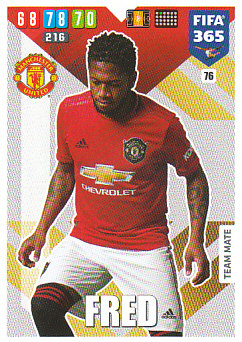 Fred Manchester United 2020 FIFA 365 #76