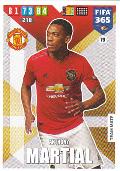 Anthony Martial Manchester United 2020 FIFA 365 #79