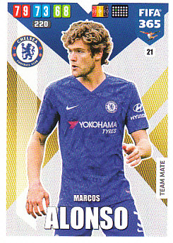Marcos Alonso Chelsea 2020 FIFA 365 #21