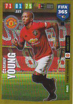 Ashley Young Manchester United 2020 FIFA 365  Fans' Favourite #66
