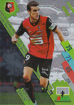 Romain Danze Stade Rennes 2014/15 Foot Adrenalyn XL Idole #SRFC-14