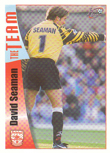 David Seaman Arsenal 1997/98 Futera Fans' Selection #10