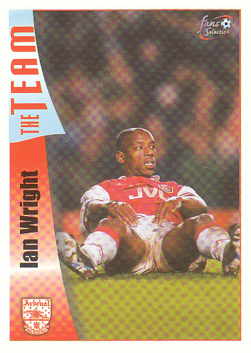Ian Wright Arsenal 1997/98 Futera Fans' Selection #11
