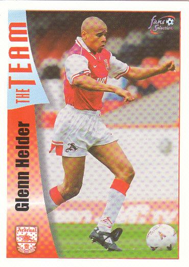 Glenn Helder Arsenal 1997/98 Futera Fans' Selection #13