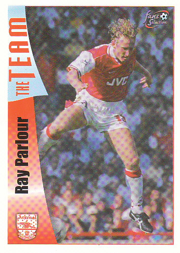 Ray Parlour Arsenal 1997/98 Futera Fans' Selection #21