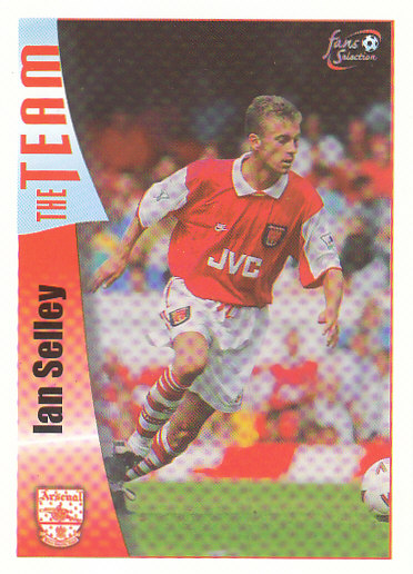 Ian Selley Arsenal 1997/98 Futera Fans' Selection #28