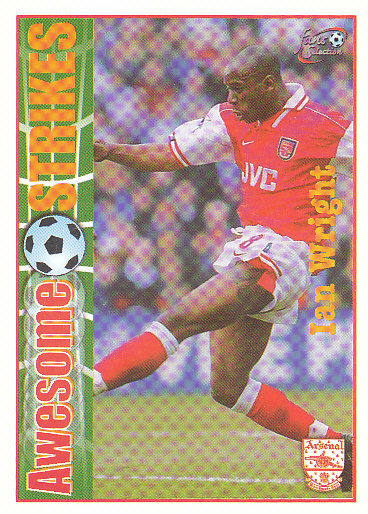 Ian Wright Arsenal 1997/98 Futera Fans' Selection #60