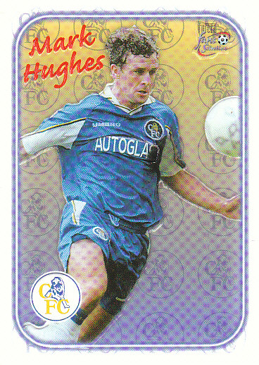 Mark Hughes Chelsea 1997/98 Futera Fans' Selection Special Edition #SE01