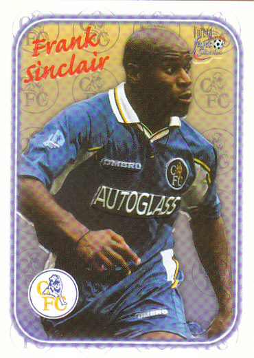Frank Sinclair Chelsea 1997/98 Futera Fans' Selection Special Edition #SE02