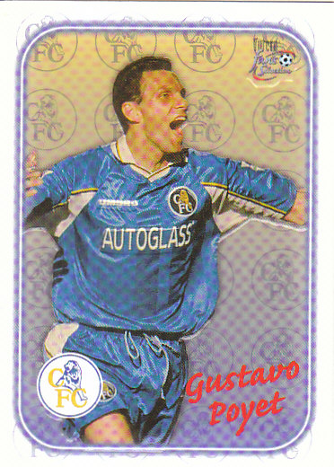 Gustavo Poyet Chelsea 1997/98 Futera Fans' Selection Special Edition #SE10